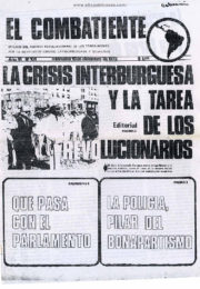 thumbnail of El Combatiente n 101