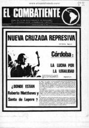 thumbnail of El Combatiente n 139