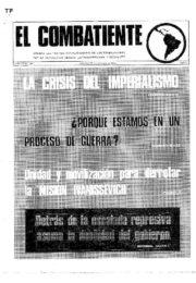 thumbnail of El Combatiente n 145
