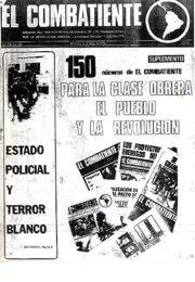 thumbnail of El Combatiente n 150 1975 enero 1