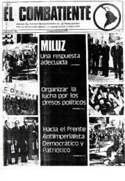 thumbnail of El Combatiente n 151