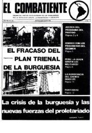 thumbnail of El Combatiente n 152