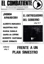 thumbnail of El Combatiente n 153