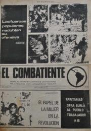 thumbnail of El Combatiente n 157