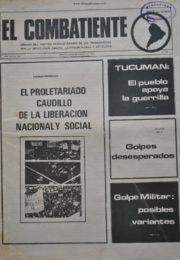thumbnail of El Combatiente n 160