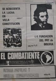 thumbnail of El Combatiente n 161
