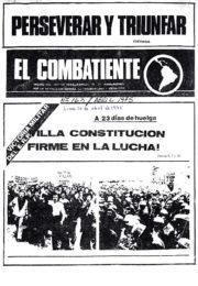 thumbnail of El Combatiente n 163
