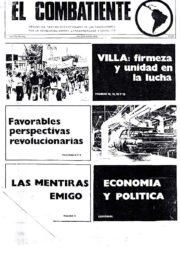 thumbnail of El Combatiente n 165