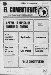 thumbnail of El Combatiente n 167