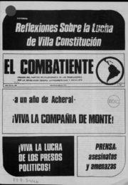 thumbnail of El Combatiente n 169
