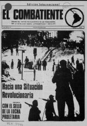 thumbnail of El Combatiente n 172