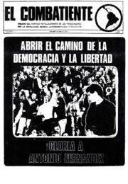 thumbnail of El Combatiente n 176