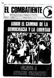 thumbnail of El Combatiente n 177
