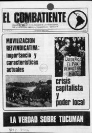 thumbnail of El Combatiente n 178