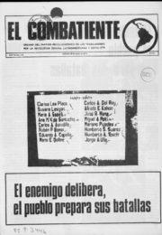 thumbnail of El Combatiente n 179