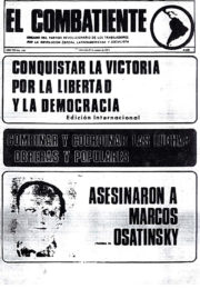 thumbnail of El Combatiente n 180