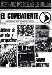 thumbnail of El Combatiente n 198 1976 enero 7