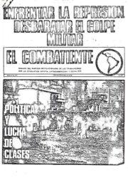 thumbnail of El Combatiente n 201
