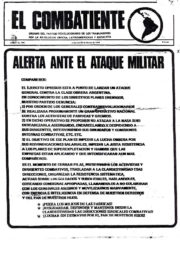thumbnail of El Combatiente n 205