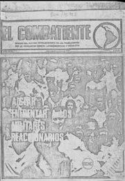 thumbnail of El Combatiente n 218