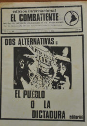 thumbnail of El Combatiente n 231
