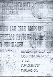 thumbnail of El Combatiente n 235