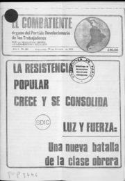 thumbnail of El Combatiente n 237