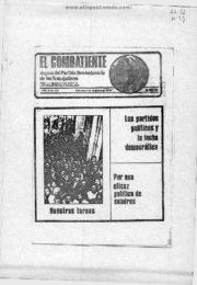 thumbnail of El Combatiente n 245 1976 diciembre 8