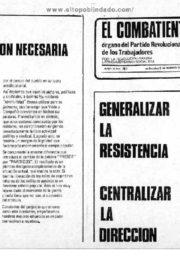 thumbnail of El Combatiente n 250 1977 febrero 2