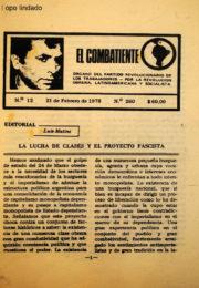 thumbnail of El Combatiente n 260 1978 febrero 21