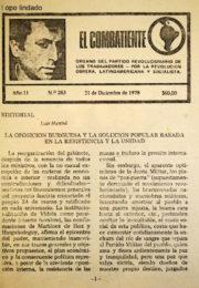 thumbnail of El Combatiente n 263