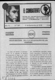 thumbnail of El Combatiente n 267