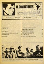 thumbnail of El Combatiente n 275