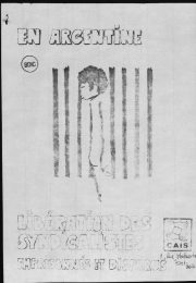 thumbnail of en-argentine-liberatio-des-syndicalistes